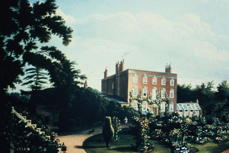 Bridgford Hall c1850