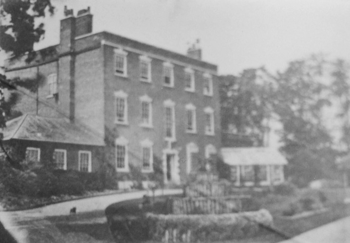 Bridgford  Hall c1886