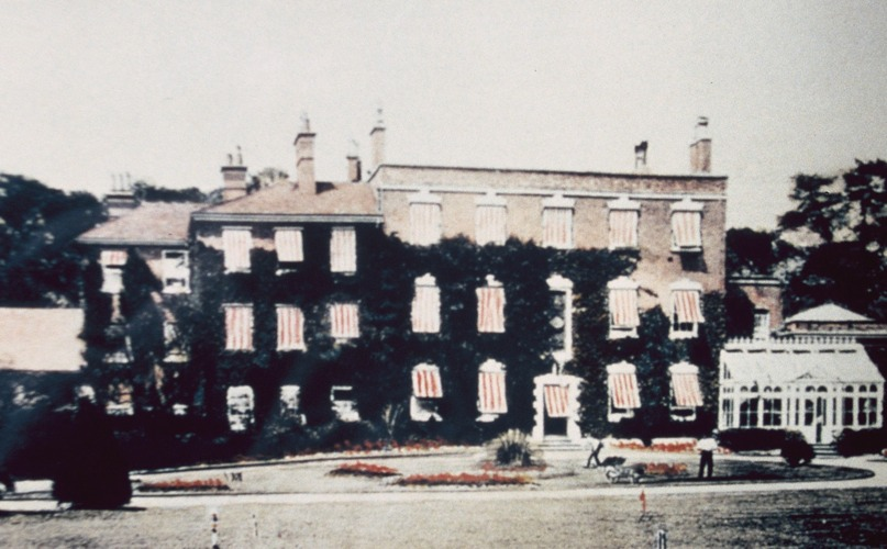 Bridgford Hall c1907