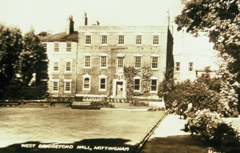 Bridgford Hall c1925