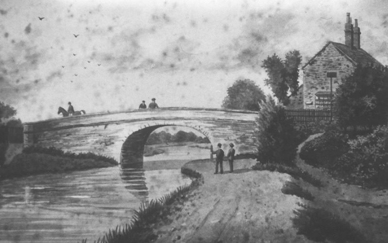 Lady Bay Canal Bridge c1800