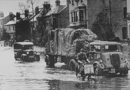 Loughborough Rd 1947.