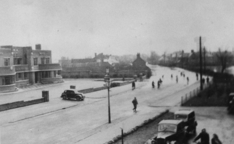Loughborough Rd, Wolds Hotel 1947