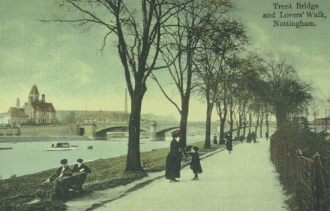 Lovers Walk c1905