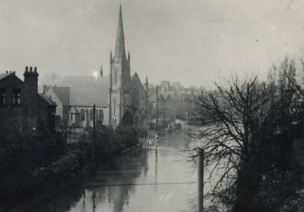 Melton Rd, Baptist Church, 1947