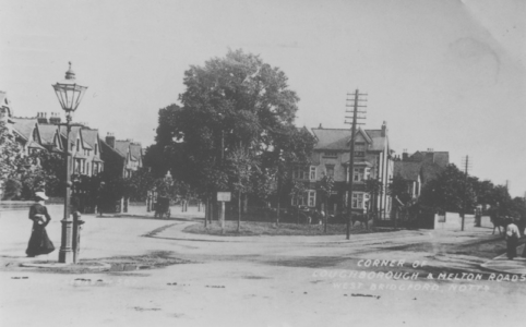 Melton Rd & Loughborough Rds c 1900