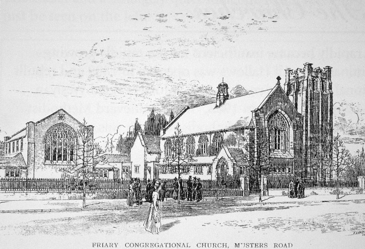 Musters Rd, Friary Church 1901