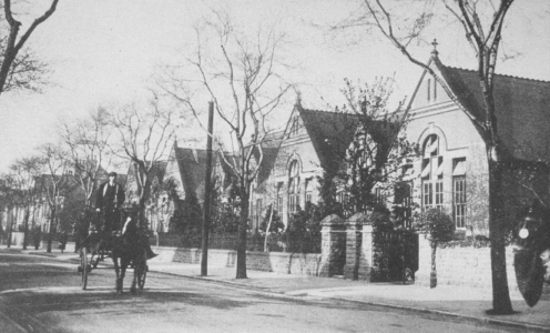 Musters Rd, Secondary School c1908