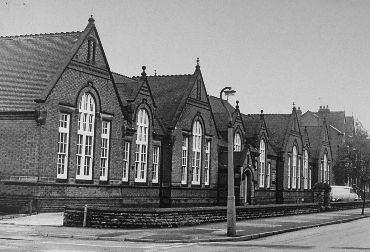 Musters Rd, Secondary School c1955