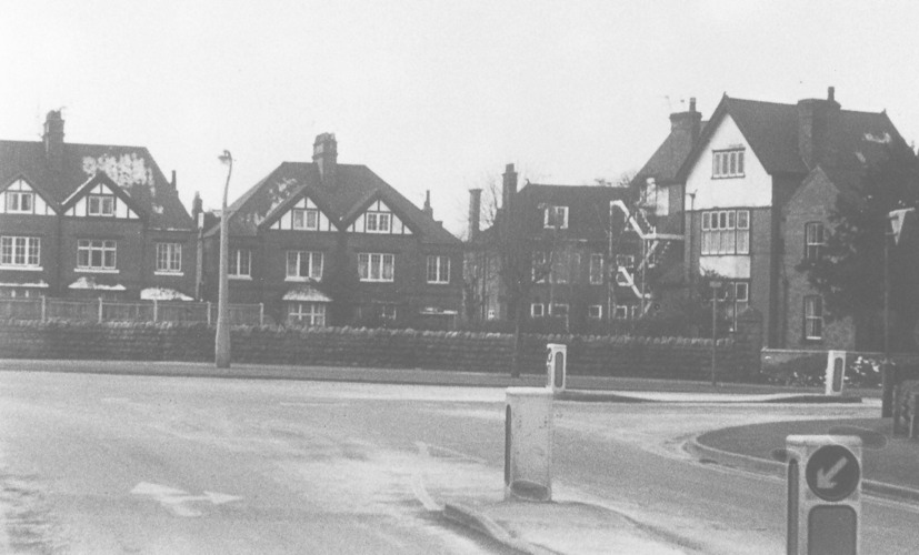 Musters Rd, site for Peveril Court c1960