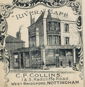 Radcliffe Rd, Riviera Cafe c1914