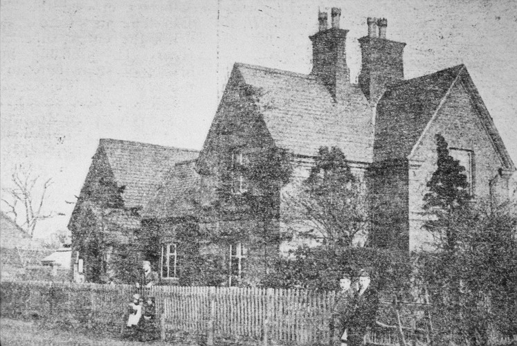 Rectory Rd, National School 1898