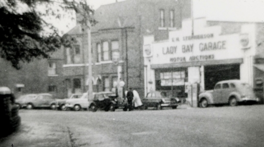 Trent Blvd, Lady Bay Garage c1960