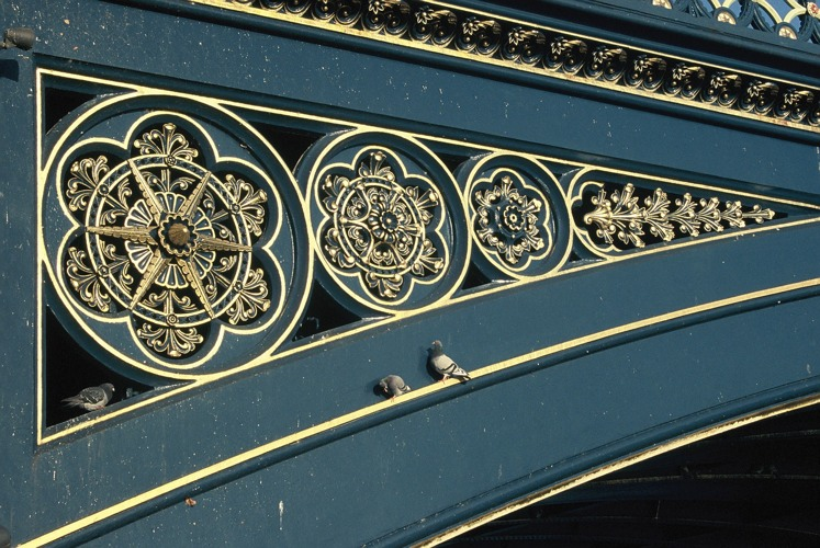 Trent Bridge, metalwork 2006