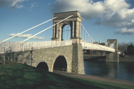Welbeck Suspension Bridge 2006