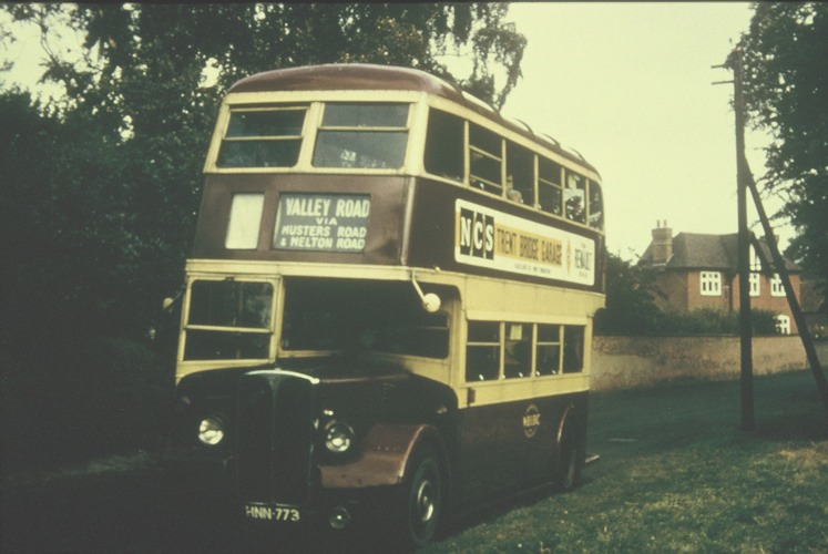 West Bridgford No11 bus c1960