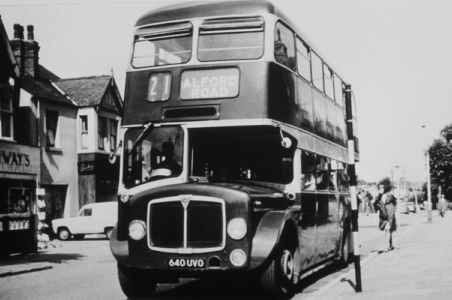 West Bridgford No21 bus c1960