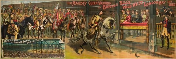 1888 poster of 1887 show