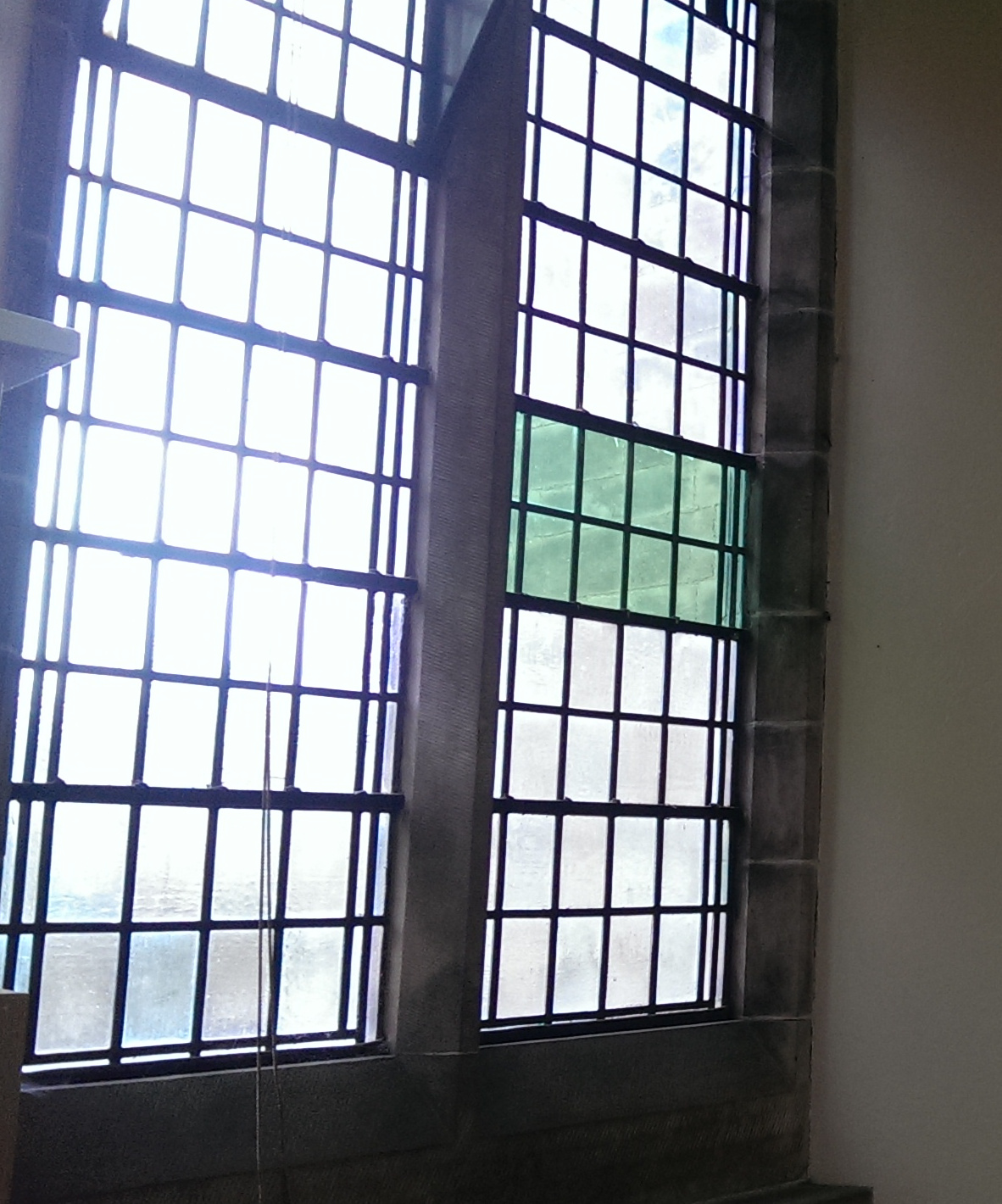Choir vestry window